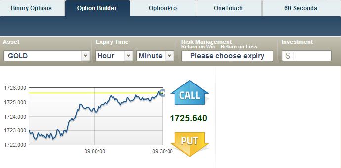 TradeRush Trade Window