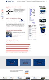 tradeopus.com new design 2014