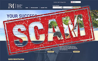 BMB option scam broker