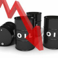 Oil price down